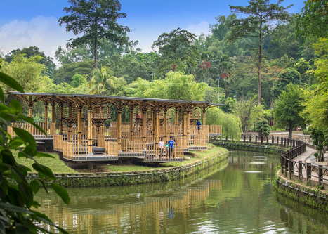 BAMBOO playhouse occupies a lake island in Kuala Lumpur | The Architecture of the City | Scoop.it