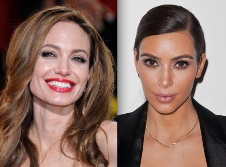 "MAG: Angelina Jolie [ Serial Killers supporter, since Libya) Calls Kim Kardashian ""Witless Bimbo"" Over Syria Tweets | Saif al Islam | Scoop.it"