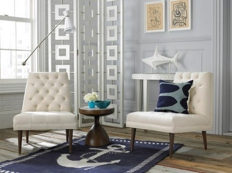 What Patterned Rugs Can Teach Us About Summer Decor   Designing Interiors   Scoop.it