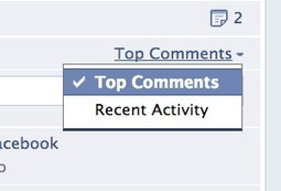 Facebook allows page admins to sort comments chronologically or by activity | SOCIAL MEDIA, what we think about! | Scoop.it