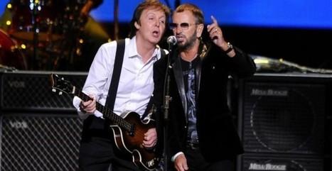 Grammy Awards 2014: Paul McCartney e Ringo Starr insieme   Musica   Scoop.it