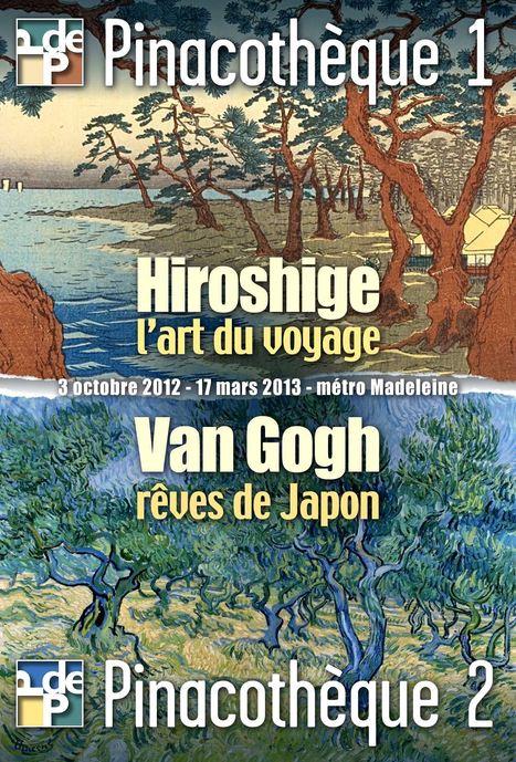 Visite virtuelle- Van Gogh et Hiroshige à la Pinacothèque de Paris | Merveilles - Marvels | Scoop.it