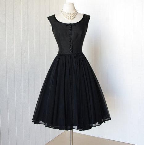 vintage 1950's dress | Fashion | Scoop.it