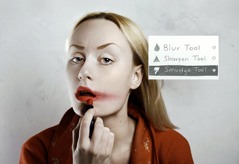 Photoshop in Real Life, Artist Imagines Applying Photoshop Filters ... | Most IN the Post | Scoop.it