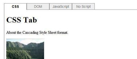 Simple panel d'onglets en CSS sans framework | html5 websites curation | Scoop.it