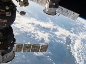 Spacewalkers attach docking adapter to space station for commercial vehicles | Spaceflight Now | The NewSpace Daily | Scoop.it