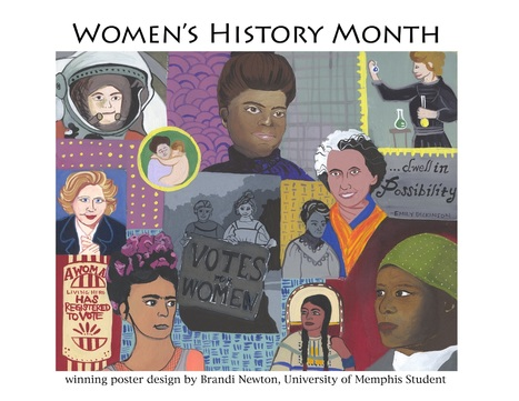 Women's History Month - Women's and Gender Studies - Research Guides at University of Memphis Libraries | Actualités | Scoop.it
