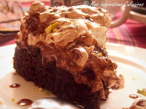 Gâteau au chocolat meringué | mariage | Scoop.it