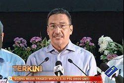 MH370: Stop politicising the aircraft's disappearance - Hishammuddin - Astro Awani | Aircrafts n Fast Cars | Scoop.it