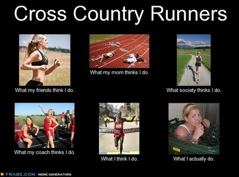 Cross Country Runners | What I really do | Scoop.it