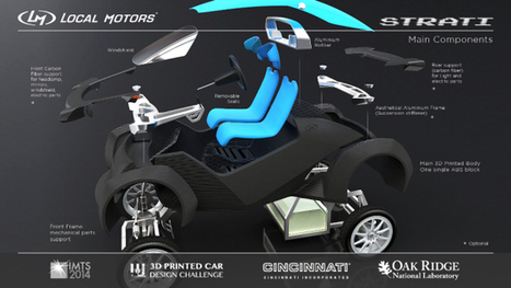 Meet Strati, the first 3D printed car in the world | Digital Cinema - Transmedia | Scoop.it