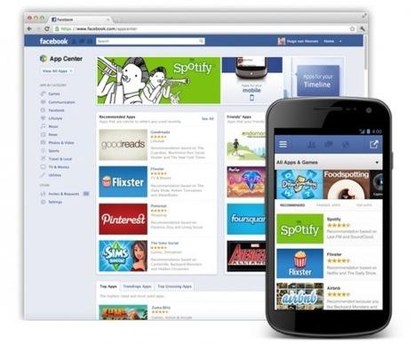 AppCenter le lancement : Facebook à l'attaque du marché mobile | Digital Experiences by David Labouré | Scoop.it