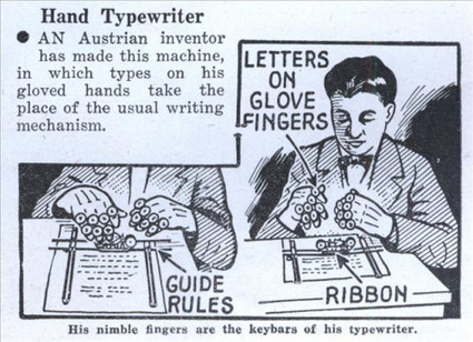 typewriter-workshop:<br/><br/>His nimble fingers are the keybars of his... | ASCII Art | Scoop.it