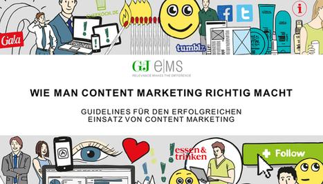 Wie man Content Marketing richtig macht | MEDIACLUB | Scoop.it