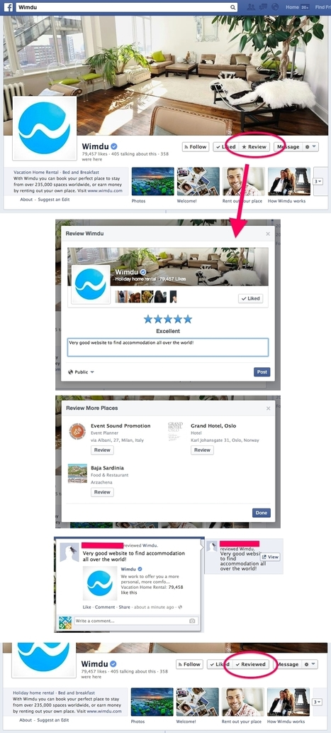 Facebook Pages For Places Getting Review Buttons | Search Engine Marketing Trends | Scoop.it