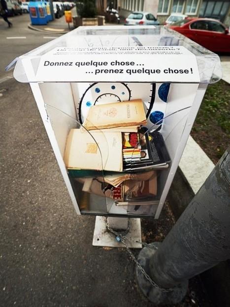 En Suisse : Des Boîtes d'échanges entre voisins font partie du décor urbain   Créativité et territoires   Scoop.it