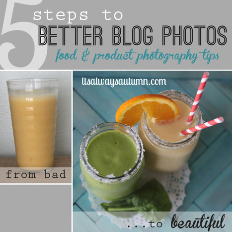 5 steps to better blog, food, and product photography | Photography Class | Scoop.it