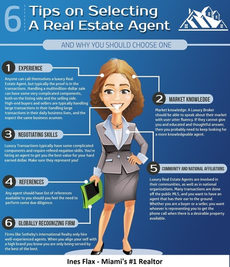 Tips For Selecting A Miami Real Estate Agent | Miami Pre Construction Specialist | Scoop.it