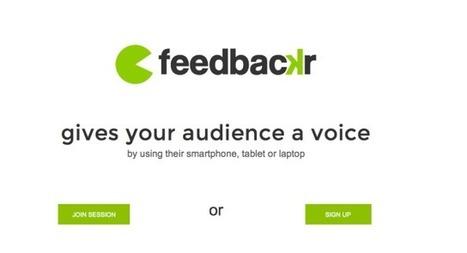 » Realfeedback geht – feedbackr kommt – Medienpädagogik Praxis-Blog   Technology Enhanced Learning in Teacher Education   Scoop.it