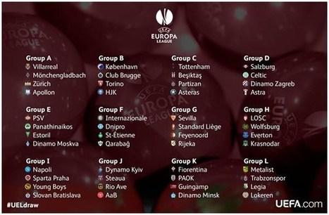 Όμιλοι-φωτιά στο Europa League | Αθλητικά | Scoop.it