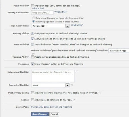 Teacher's Guide to Creating Facebook Group for Students ~ Educational Technology and Mobile Learning | New Web 2.0 tools for education | Scoop.it