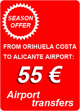 TAXI Orihuela Costa _ Airport Transfers _ 24 hours at your service. | TAXI Orihuela Costa | Scoop.it