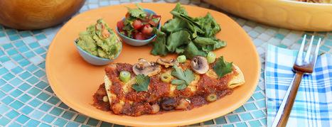 Bean & Corn Enchiladas - Forks Over Knives   Mincir Autrement   Scoop.it