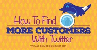 How to Find More Customers With Twitter | How to Pinterest, How to Twitter,  How to do something, How to fix something, How to tips | Scoop.it