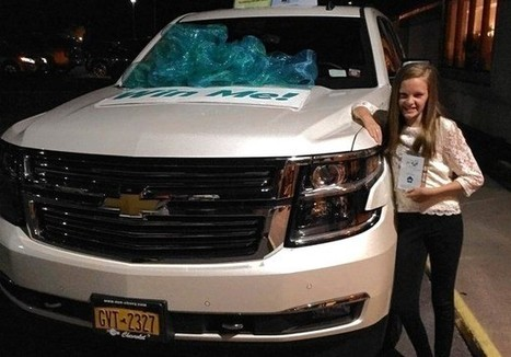 Teen Volunteer Wins $70,000 SUV in Charity Raffle, Then Stuns Crowd | This Gives Me Hope | Scoop.it