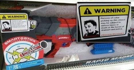 Activists Put Warning Stickers on Walmart's Toy Guns In 'MLK Day of Action' For John Crawford | Pós Capitalismo | Scoop.it