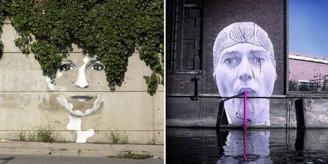 28 Pieces Of Street Art That Cleverly Interact With Their Surroundings | Technology Integration and Learning Resources | Scoop.it