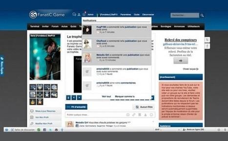 FanatiC Game, un réseau social 100% dédié aux jeux vidéo | Cabinet de curiosités numériques | Scoop.it