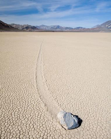 The Sliding Rocks of Racetrack Playa Mystery | Geology | Scoop.it