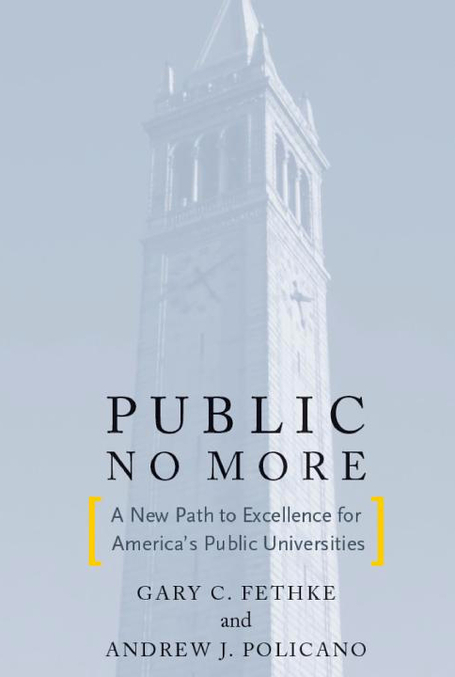 Public No More: A New Path to Excellence for America's Public Universities; how research universities can survive with reduced subsidies and increased competition from both non-profit and for-profi... | Dual impact of research; towards the impactelligent university | Scoop.it
