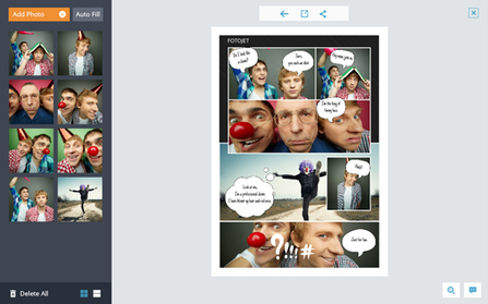 Photo Comic Maker - Make Funny Photo Comic Online for Free | What tool to use for your final project in ESL classes. | Scoop.it