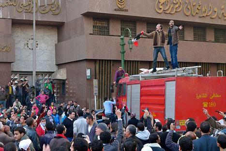 Egypt's protests in social media | Al Jazeera Blogs | Coveting Freedom | Scoop.it