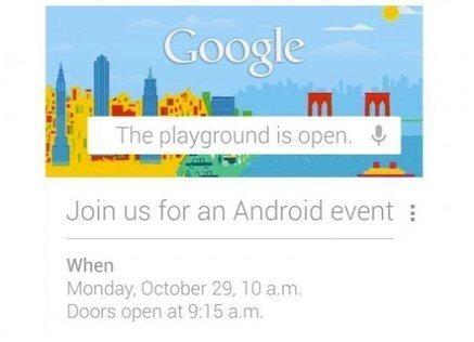 Lo que Google revelará en el evento Android del 29 de Octubre | Ferias, congresos y eventos | Scoop.it