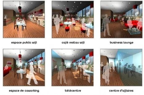 Les tiers-lieux: espaces de travail entre bureau et domicile | Neo-nomade le blog | Coworking  Mérignac  Bordeaux | Scoop.it