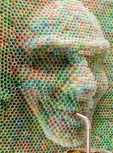 Suck It! 8 Brilliant Examples of Plastic Drinking Straw Art | Art Photography Inspiration | Scoop.it