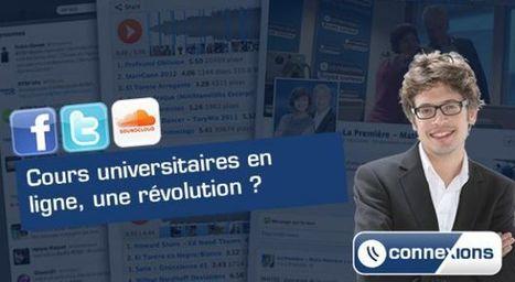 Connexions : Cours universitaires en ligne, une révolution ?  - RTBF Matin premiere | Enseigner et Apprendre à l'Université | Scoop.it