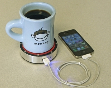 Epiphany onE Puck charges phones with a hot (or cold) beverage ... | Innovation - beverage | Scoop.it