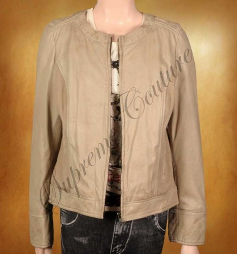 The designing of Women Dashing Causal in material of leather superb. | WOMEN JACKETS | Scoop.it