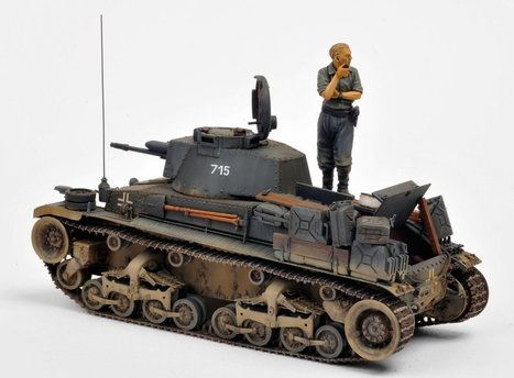 Panzer 35(t) | Military Miniatures H.Q. | Scoop.it