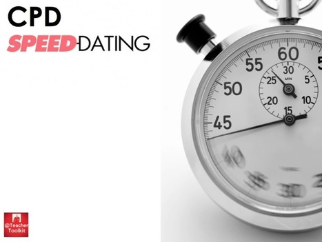 Speed-Dating CPD: Bring and Brag by @TeacherToolkit | | @TeacherToolkit | Digital Learning & CPD | Scoop.it