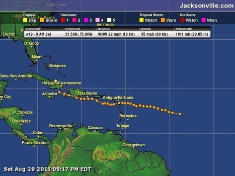 'With TS #Erika no longer a tropical storm, threat to Jacksonville appears to be over' | News You Can Use - NO PINKSLIME | Scoop.it