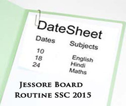 Jessore Board SSC Exams Routine 2015 Science & Arts | Education for Bangladeshi Student | Scoop.it