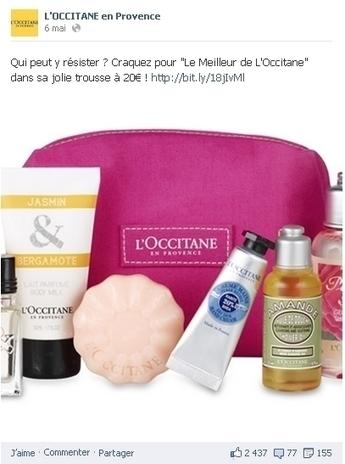 Sur Facebook et Twitter, L'Occitane renforce la proximité avec ses clients | Customer Marketing in Retail | Scoop.it