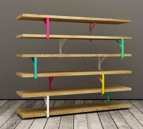 SPOTTED - a very nice industrial shelving IKEA hack...   Comercial Organizing   Scoop.it
