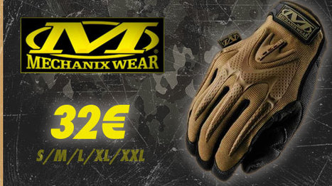 Gant Mechanix M-PACT Coyote Glove | Airsoft Rider Shop | Scoop.it