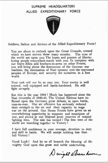 Primary Doc. #1: Supreme Headquarters Allied Expeditionary Force | Dwight D. Eisenhower | Scoop.it